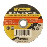 금속을%s 150*3*22.2mm 편평한 유형 커트오프 디스크 절단 바퀴