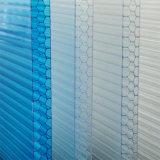Hoja material importada del policarbonato de las persianas del panal para la ingeniería