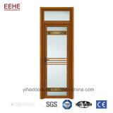 Projeto de vidro das portas niveladas do frame de alumínio meio