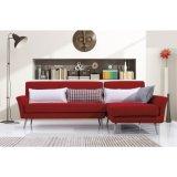 Meubles L sofa de coin de salle de séjour de mode de forme