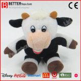 Boucles principales de jouet de trousseau de clés de la peluche En71 de vache molle à peluche pour des gosses/enfants