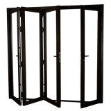 Blocco per grafici di portello Extrusion Alluminio esterno &#160 Tempered; Portello Bifold di vetro