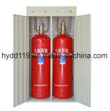 Precio extintor del sistema del gas automático FM200 para el sitio de motor eléctrico