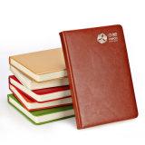 Caderno de couro personalizado alta qualidade do Hardcover do plutônio