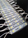 módulo IP65 impermeable CRI75+ de 120degree 0.72W 65lm SMD5050 LED para la carta del rectángulo ligero/del metal/la carta de Channle/el LED luminoso