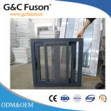 Indicador do slider de PVC/Aluminium com vidro da vitrificação dobro