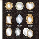 De Kroonlijst van het Afgietsel Pu van de Frames Pu van de Spiegel van het polyurethaan hn-J0xx