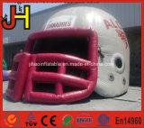 Traforo gonfiabile portatile del casco di gioco del calcio dell'entrata del gioco di sport