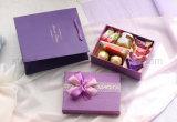 Caja de regalo de bodas de papel personalizado para el chocolate y caramelo