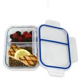 Glasvorbereitungs-Behälter der mahlzeit-2-Compartment mit Kappe