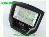30W ninguna luz de inundación de alta presión del plástico SMD LED del parpadeo