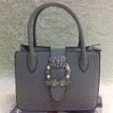 جديد [رهينستون] تصميم حقيبة يد أعلى [بو] [ستشل] حقيبة مع ضعف مقبض وشريط طويلة [ش170]