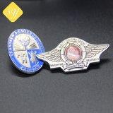 La mejor calidad de proveedores China Custom Hard Soft enamel insignia de solapa de metal