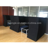 Office Reception를 위한 여가 Public Waiting Fabric Bench