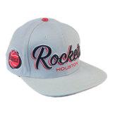 Mode 3D en coton blanc broderie Sports personnalisé man hat Cap Snapback