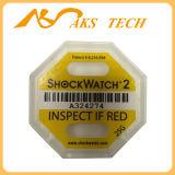 새로운 도착 충격 표시기 충격 센서 Shockwatch 충격 감시