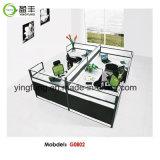 現代木のオフィス用家具のモジュラー事務机Yf-G0201