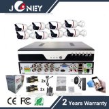 4 canais as câmaras HD 1080P Kit DVR Ahd/CVI/Tvi/CVBS Interruptor Auto