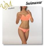 Form-materiellen Bikini-Badebekleidunghalter-Nylonbadeanzug kundenspezifisch anfertigen