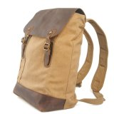 Школа вымыта Canvas рюкзак мешок кемпинг RS-659C