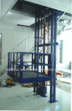 type simple ascenseur de longeron de bras de cylindre simple de 1-18m de fret
