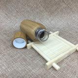 bottiglia di legno di bambù dell'animale domestico 30ml del cilindro di plastica di Boston