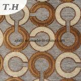 2017 drei Farben-Chenille-Jacquardwebstuhl-kreisförmiges hochwertiges Gewebe-Sofa