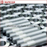 Boulons de goujon de l'acier inoxydable ASTM A193 B7 avec les noix 2h