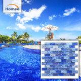Schillernde Kristallglas-Swimmingpool-Mosaik-Fliese