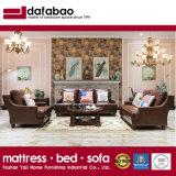 Sofà moderno del cuoio della mobilia dell'hotel del salone (AS849)