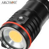 Archon-Tauchens-videolicht Wm66 12000 Lumen-Sporttauchen-Fackel-Licht 100 Meter
