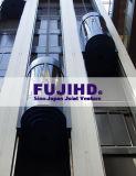 富士の観察のエレベーターのパノラマ式の上昇の中日合同事業