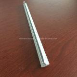 Quadrato, profilo rotondo e differente dell'espulsione della lega di alluminio per il portello e tubo 131 della finestra