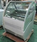 Indicador do congelador do gelado de Gelato/congelador italianos comerciais do Popsicle