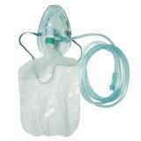 Máscara de oxígeno de Non-Rebreather de las fuentes de hospital