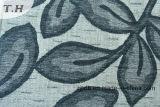 Tissu de jacquard de Chenille de modèle de lame de jacquard