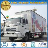 Dongfeng 10 Tonnen 50 M2-im Freienstadiums-Förderung-LKW mit LED-Bildschirm