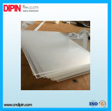 Tarjeta de acrílico plástica de acrílico plástica de la hoja PMMA del molde transparente de la fábrica de China