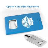 ビール瓶のオープナのカードUSBのフラッシュ駆動機構128MBのメモリ棒のフラッシュカード64GB 32GB 16GBのペン駆動機構