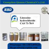 Qualitäts-lokales betäubendes Puderlidocaine-Hydrochlorid-weißes Puder 73-78-9