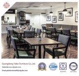 Mobília contemporânea do restaurante com poltrona e a tabela de madeira (YB-H-16)