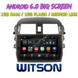"Witson 9"" на большой экран Android 6.0 DVD для Toyota Corolla Classic"