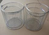 Piezas de metal que limpian la cesta/que lavan la cesta