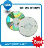 10 jaar van de Fabriek Leeg cd-r van de Schijf met Glanzend Zilver