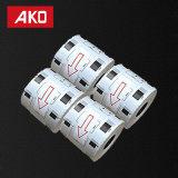 Le frère sec d'étiquettes de bureau de papier thermosensible étiquette les étiquettes compatibles de Dk1209 Dk-1209 pour le code barres