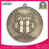 Custom металлические медаль с сублимацией строп предохранительного пояса