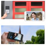 Sonnette visuelle d'intercom de téléphone de porte de WiFi sans fil imperméable à l'eau de garantie de Chambre