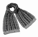 Кабеля цвета зимы женщин шарф Unisex теплого смешанного тяжелый связанный (SK162)