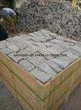 Gelber Granit G682 Cubestone, Kopfstein, Granit stolperte Kopfstein