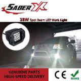 18W à prova de Luz de Trabalho do LED no local da orelha para Jeep /Máquina
